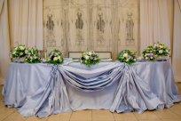 стол молодых,Свадебные украшения, Украшения свадебного стола, Цветы на стол молодоженам, Свадебные композиции на стол молодоженам, Цветочные композиции, Стол жениха и невесты, Украшения свадебного стола фото