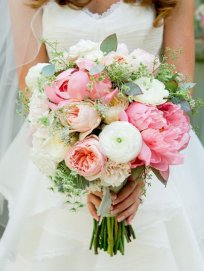 свадебные букеты, весільні букети