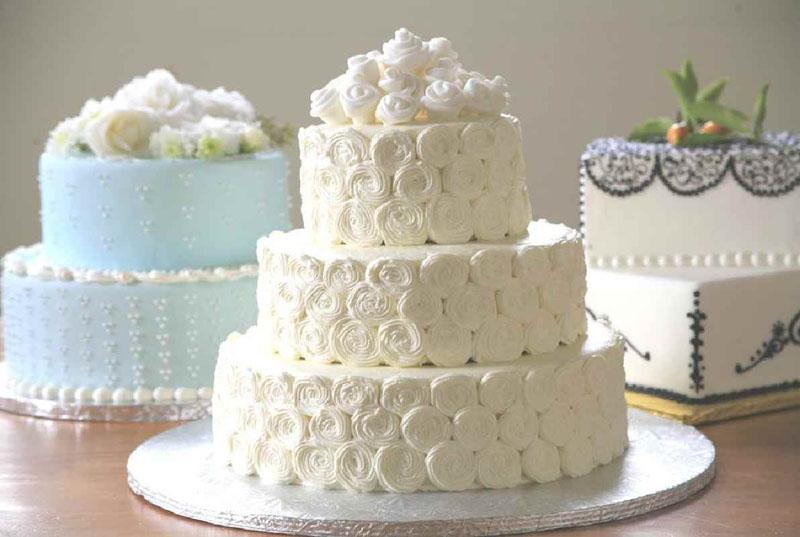 Торти на весілля