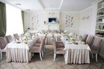 Декор зали ресторану на весілля