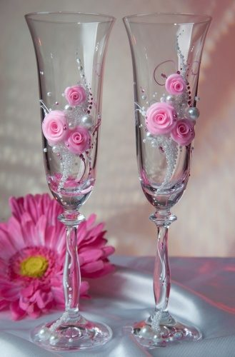 Комплект свадебных бокалов