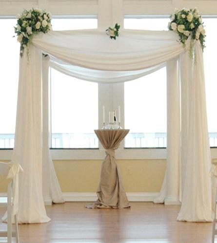 свадебная арка в английском стиле