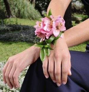 Цветочные браслеты