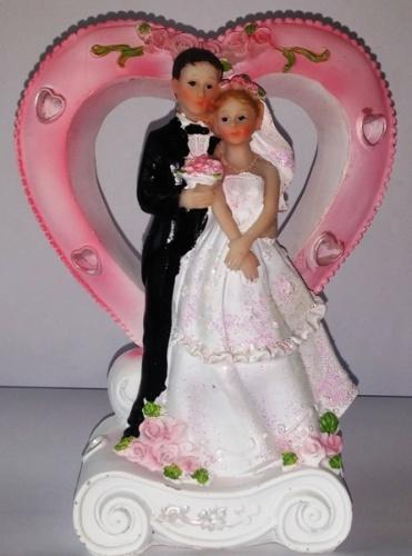 Украшения на свадебный торт
