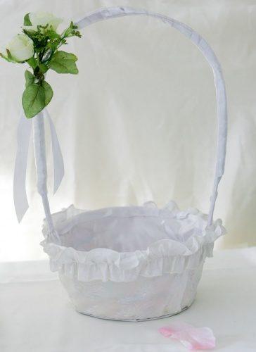 свадебная корзинка под лепестки