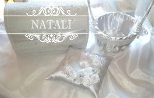 Свадебные наборы в белом цвете