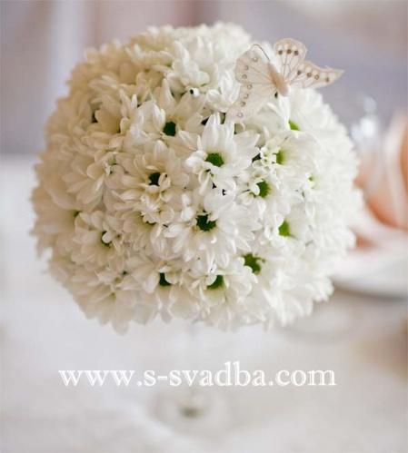нежное фветочное оформление свадьбы