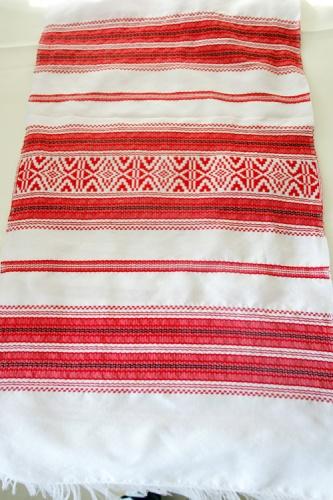 Тканный свадебный рушник