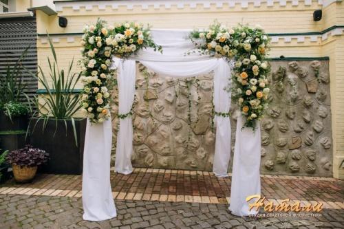 прокат свадебной арки хупа