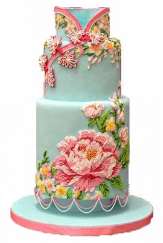 свадебный торт вышиванка