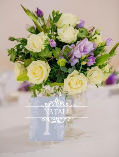 Квіти на стіл молодятам