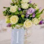 флористическое оформление гостевых столов