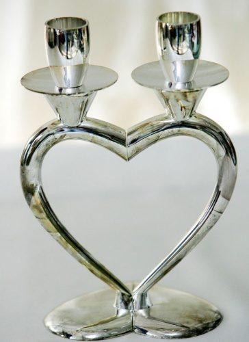 подсвечник на свадебный стол