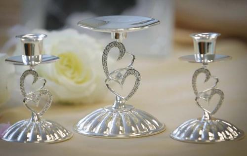 Комплект свадебных подсвечников