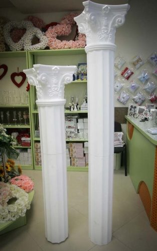 Свадебные колонны