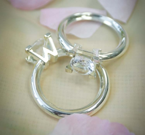 Кольца для свадебных салфеток