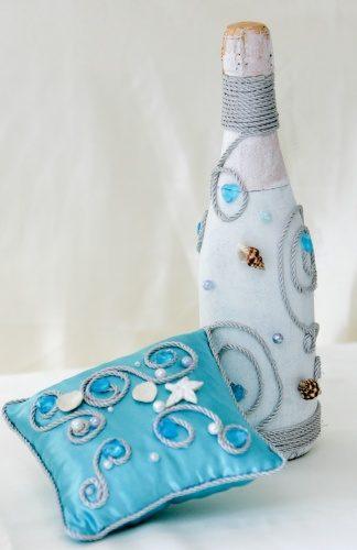 Свадебный комплект в морском стиле