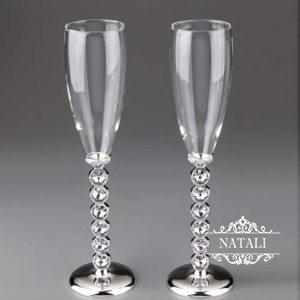Свадебные бокалы Кристаллы