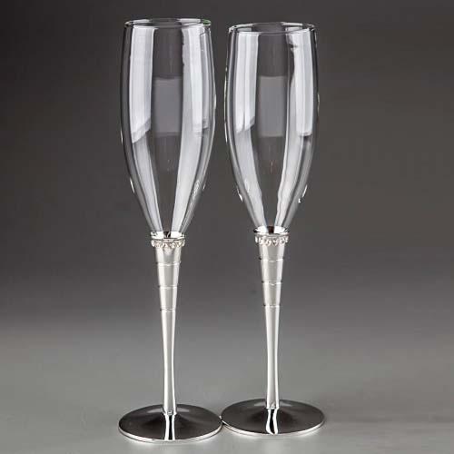 Свадебные бокалы Алмазы