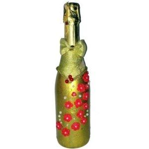 Свадебное шампанское на стол молодоженам