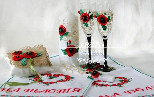 Свадебные аксессуары в украинском стиле