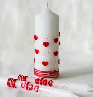 Свадебные и венчальные свечи