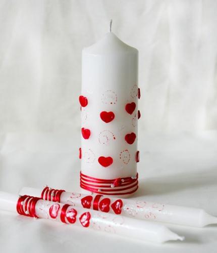 Свічки весільні та вінчальні