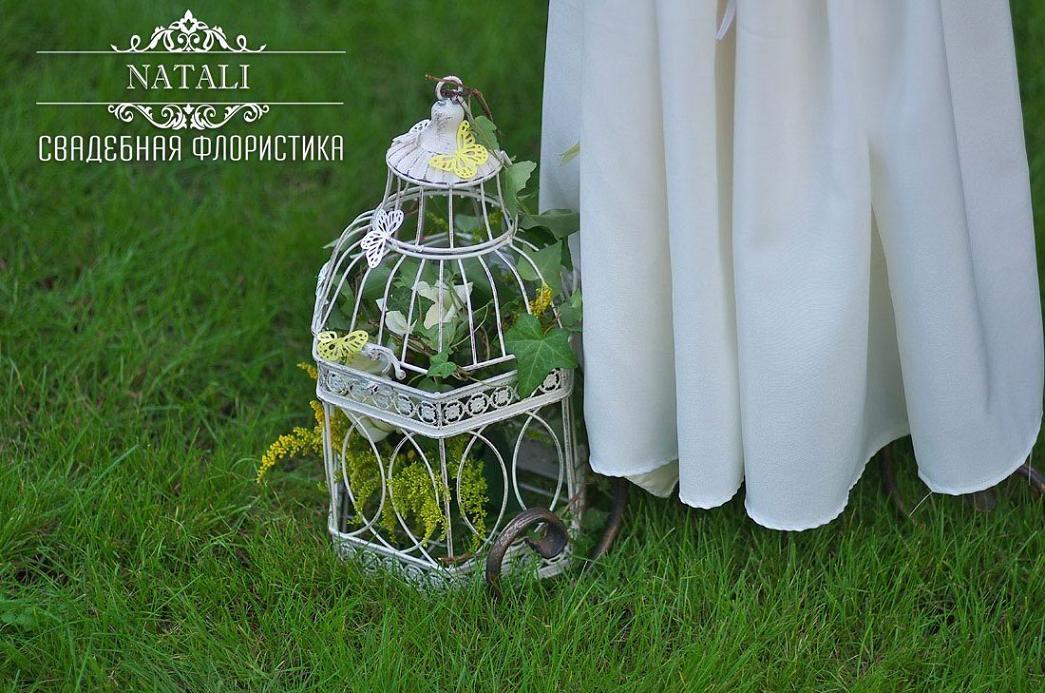 Свадебный декор клетка