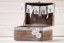Скриньки для весільних грошей