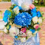 цветочная композиция на арке