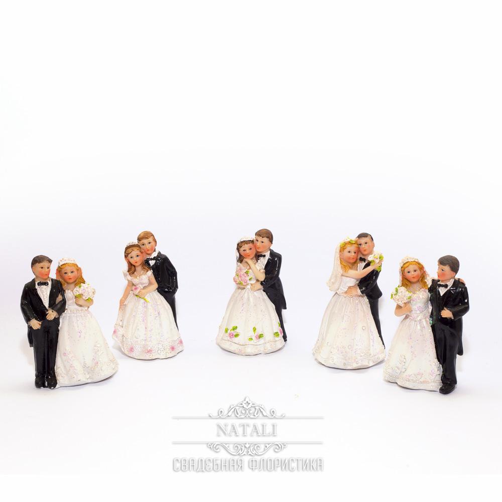 Фигурки на торт жениха и невесты