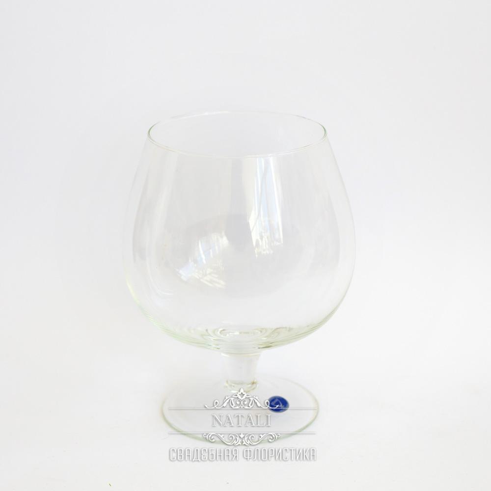 бокал стекло под цветочную композицию