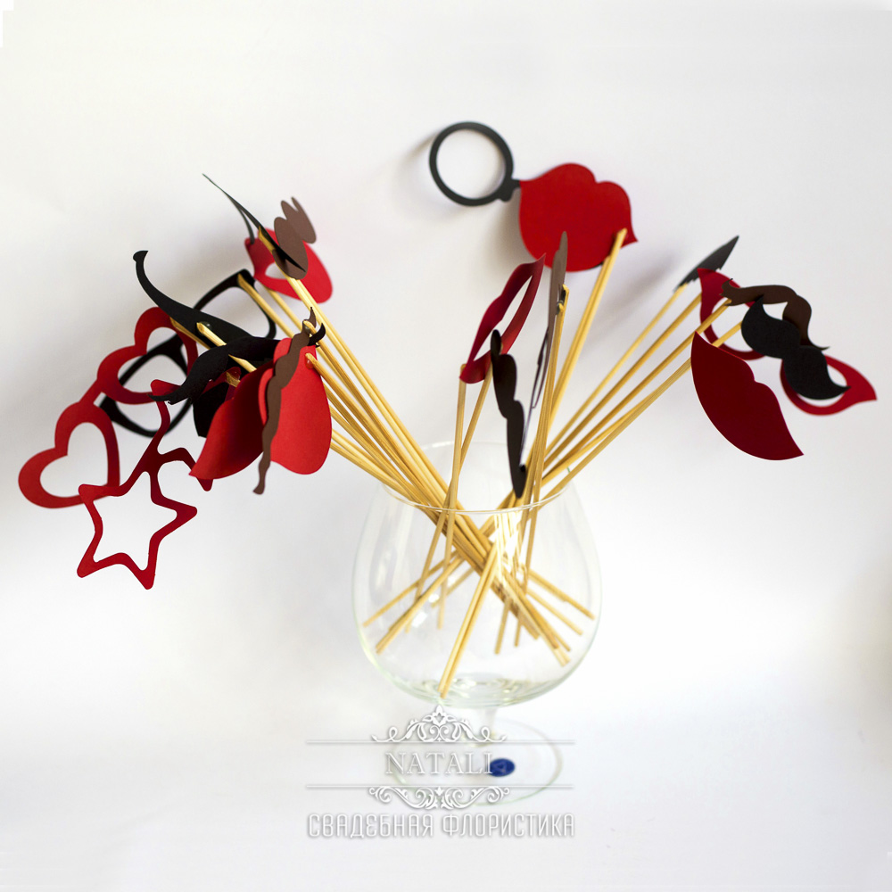 На палочках декоративные украшение для фотосессий
