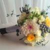 летний свадебный букет невесты