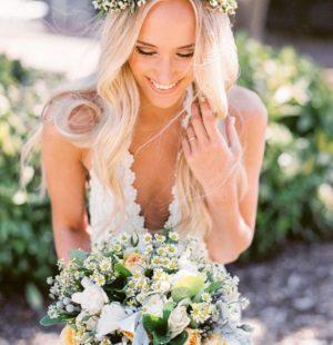 венок для украшения прически невесты