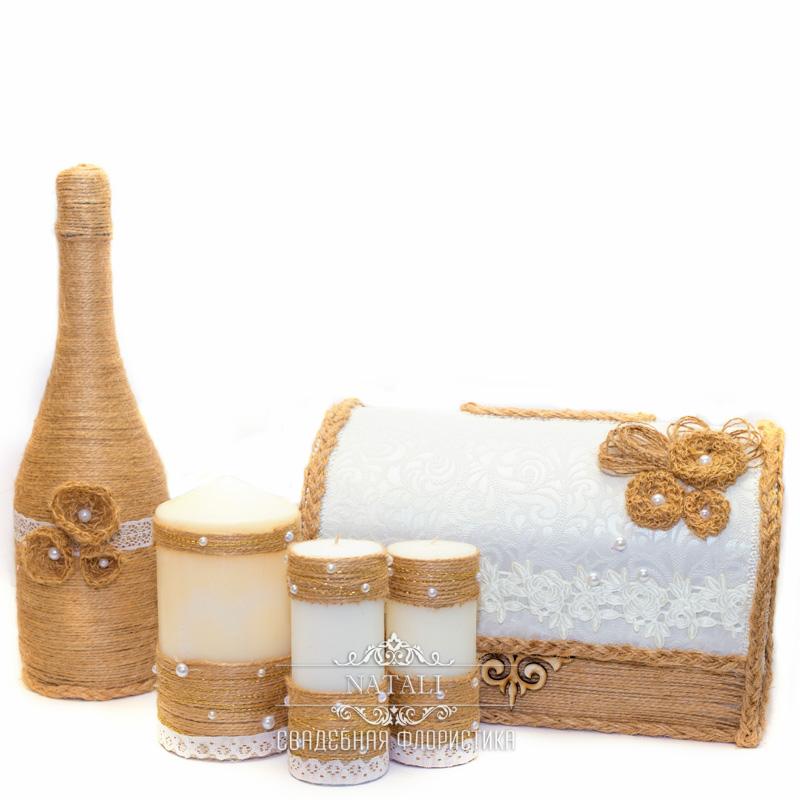 Свадебный набор в этно стиле