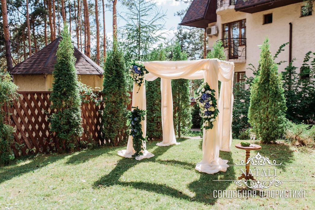 Хупа-свадебная арка квадратной формы