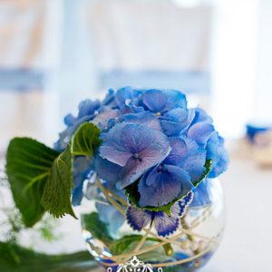 гортензия, свадьба, свадебный декор, украшение гортензией