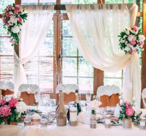 Свадебная деревянная арка