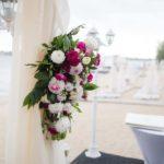 цветочная композиция свадебной арки