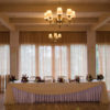 цветочное оформление свадебного стола