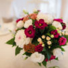 свадебное оформление композиция на гостевой стол