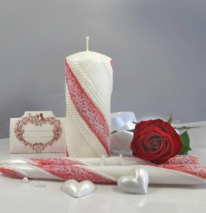 Свадебные свечи, свадьба, венчальные свечи, свечи