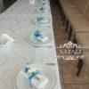 гостевые бутоньерки из хризантем в емв синем цветев синем цвете ресторана Козачок на Совках