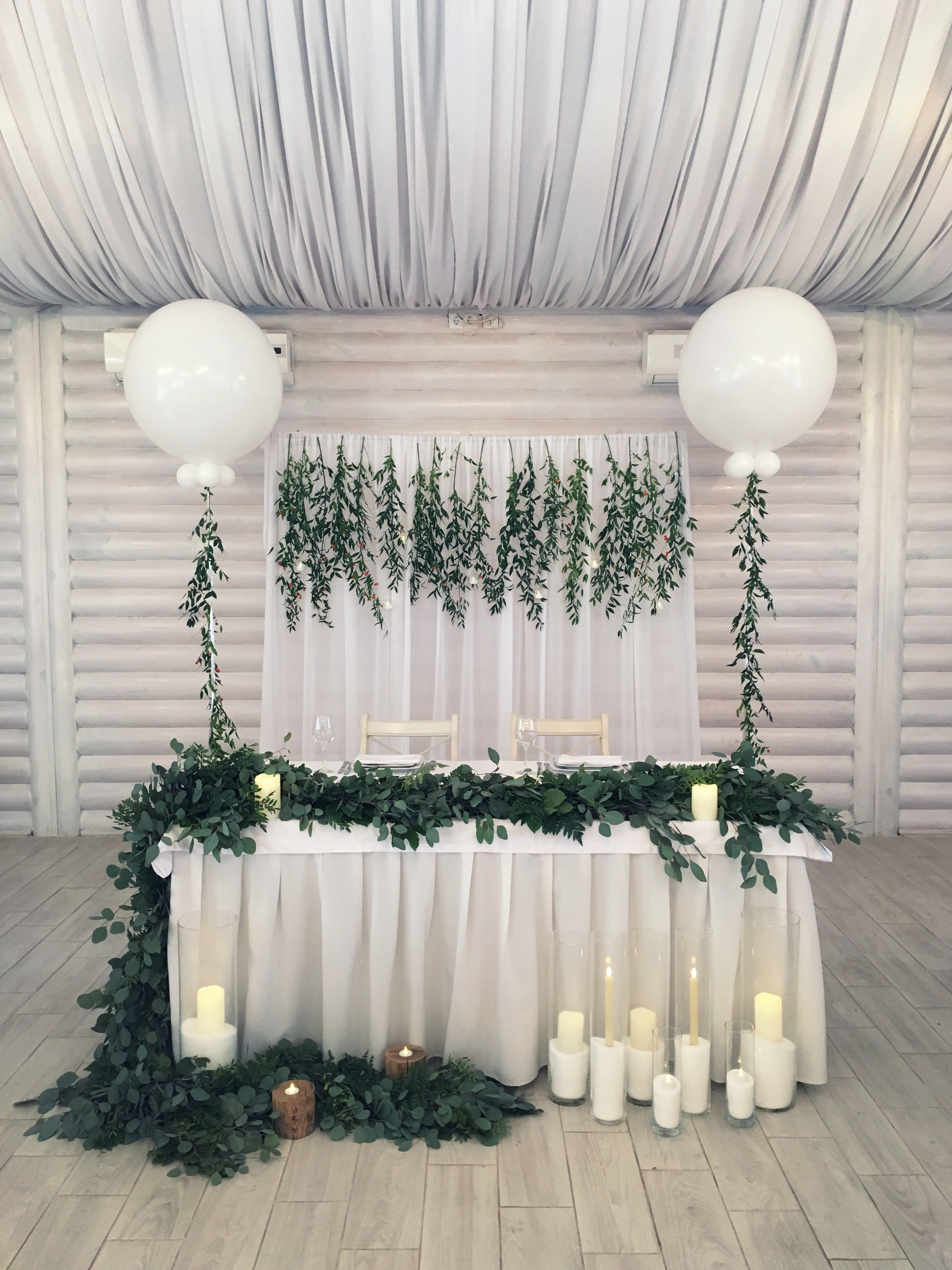 Свадьба в стиле ботаник